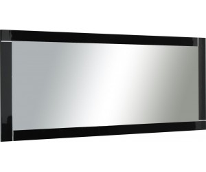 Miroir coloris noir laqué brillant 140cm INARI