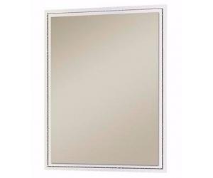 Miroir rectangulaire design blanc laqué ROMANTIQUE