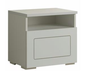 Chevet design 1 tiroir blanc laqué qualité supérieure ROMANTIQUE