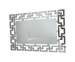 Miroir moderne rectangulaire design galets L.120 GALETTA