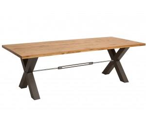 Table à manger Thor 240cm chêne sauvage