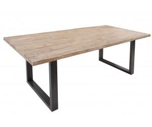 Table à manger Wotan 200cm acacia teck gris