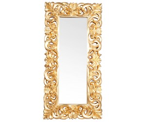 Grand miroir design baroque VENISE or miroir antique 90x180cm