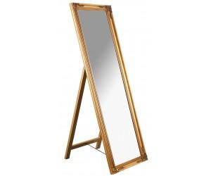 Miroir sur pied Versailles 160cm or