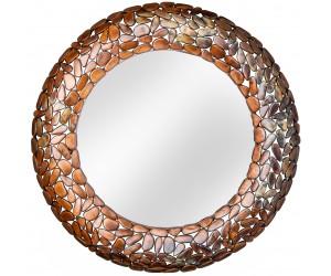 Miroir Stone Mosaic 82cm cuivre