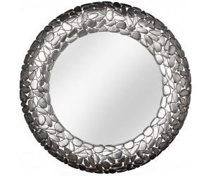 Miroir Stone Mosaic 82cm argent