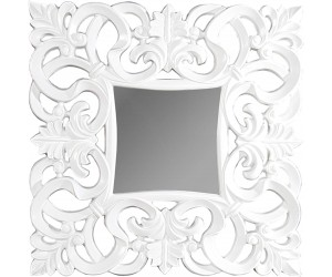 Miroir mural Venise blanc antique 75cm