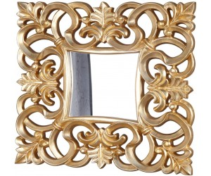 Miroir mural Venise or antique 75cm