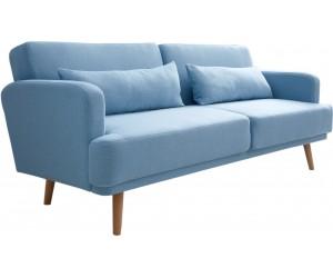 Canapé-lit 210cm bleu