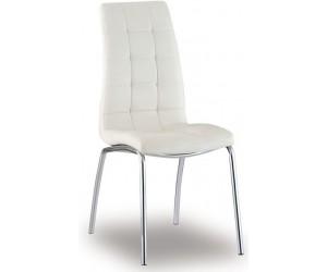 Chaise de salle à manger cuisine design blanc Barossa