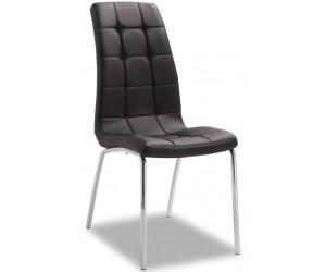 Chaise de salle à manger cuisine design noir Barossa