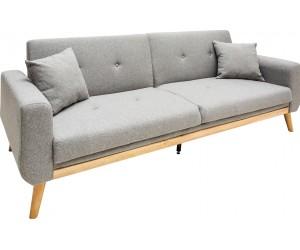 Canapé-lit Skagen 215cm gris clair