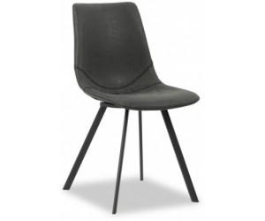 Chaise de salle à manger noir Dutchbone