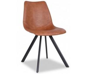 Chaise de salle à manger brun Dutchbone