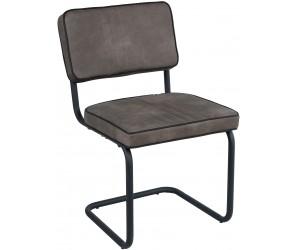 Chaise de salle à manger Taupe PIERO