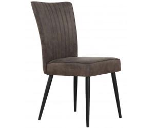 Chaise de salle à manger gris CHARLI