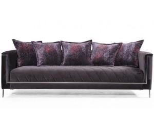 Canapé ultra design unique tissu DALIA
