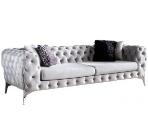 Canapé chesterfield velour design luxury collection modulable RICHARD