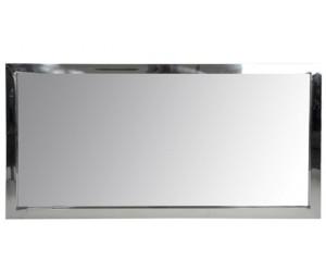 Miroir Rect Acier Inoxydable/Verre Arg 130cm