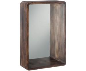 Miroir Rectangulaire Bois Marron Small