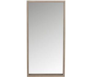 Miroir Rectangulaire Bois Naturel 120X60Cm