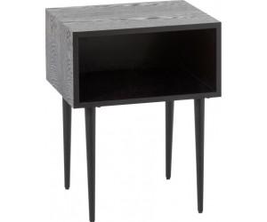 Table Gigogne Carree Mdf Noir