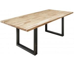 Table à manger Wotan 200cm chêne industriel