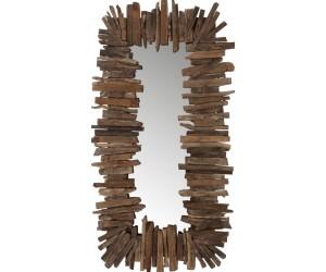 Miroir Rectangulaire Morceaux Bois Recycle Marron Small