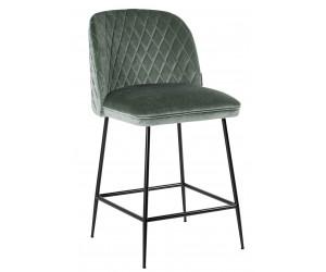 Bar stoel Tabouret Pullitzer Jade Velvet / noir