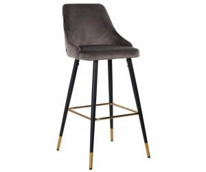 Bar stoel Tabouret Imani Stone Velvet