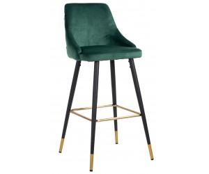 Bar stoel Tabouret Imani Green Velvet