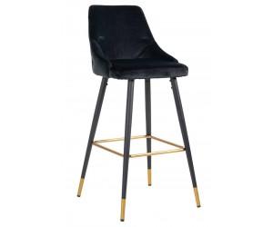 Bar stoel Tabouret Imani Black Velvet