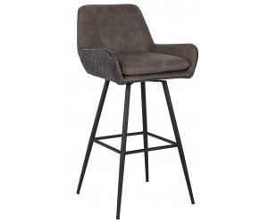 Tabouret Linsey pivotant PU Leather