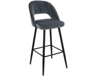 Barstoel Chaise de bar Tabouret Luna Antraciet