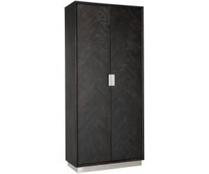 Bar Armoire Présentoir Blackbone silver 2-portes haut