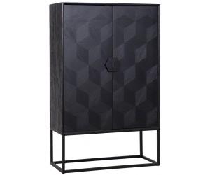 Vitrine Etagères Présentoir Richmond Interiors Armoire de bar Cabinet Blax with 2-doors Opbergkast