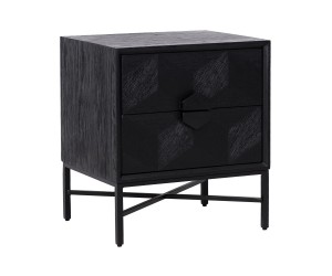 Table gigogne coinChevet Commode Blax 2-tiroirs Chest of drawers Blax with 2-drawers Ladekast
