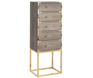 Console Commode Calesta 5 tiroirs