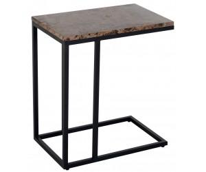 Richmond Interiors Bijzettafel Table d'appoint orion marbre brun Sofa table