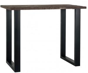 Richmond Interiors Table de bar 140×80, recycled wood Bartafel bistro Raffles