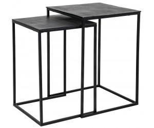 Pillar Plantentafel Table d'appoint Table Jaysen square set of 2