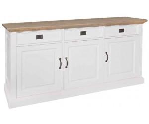 Richmond Interiors Buffet Dressoir Sideboard Bahut Oakdale 3-portes 3-tiroirs Sideboard Oakdale 3-doors 3-drawers
