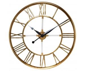 Richmond interiors Horloge Mural Acier inoxydable Horloge mural dorée Bryson