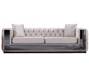 Canapé velours design luxury collection modulable PERA