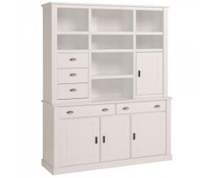 Vaisselier salle à manger coloris blanc laqué VICO